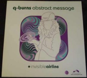 Q-Burns Abstract Message - Invisible Airline Double Sided Promo