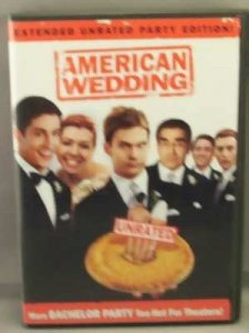 American Wedding DVD Unrated