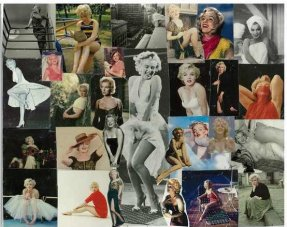 Marilyn Monroe 8 X 10 Collage 1A