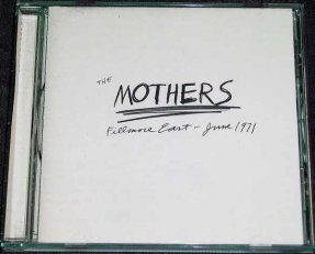 Mothers - Fillmore East June 1971 CD Frank Zappa