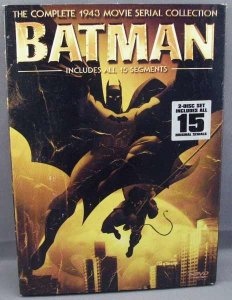 Batman Complete 1943 Movie Serial Collection DVD 2 Disc Set
