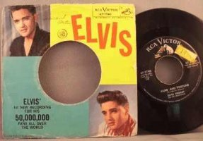 Presley, Elvis - Stuck On You / Fame And Fortune Vinyl 45 W/PS