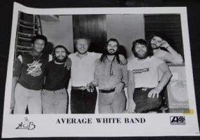 Average White Band - AWB 8 X 10 Promo Photo