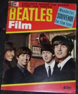 Beatles Film Wonderful Souvener For Film Fans Magazine