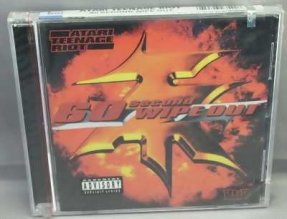Atari Teenage Riot - 60 Second Wipe Out CD