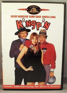 Kingpin DVD Vanessa Angel, Woody Harrelson, Randy Quaid
