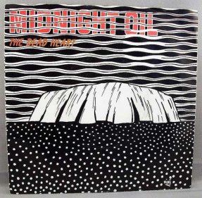 Midnight Oil - Dead Heart / Kosciusko Vinyl 45 W/PS