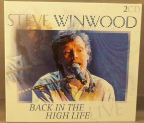 Winwood, Steve - Back In The High Life Live CD