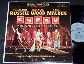 Gypsy Vinyl LP Natalie Wood