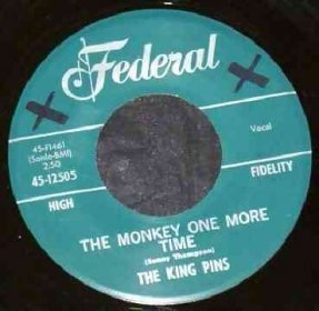 King Pins - With The Other Guy / Monkey One More Time 7