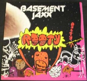 Basement Jaxx - Rooty Double Sided Promom Poster/Flat