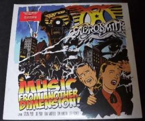 Aerosmith - Music From Another Dimension Red Vinyl LP