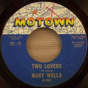 Wells, Mary - Two Lovers / Operator Vinyl 45 7