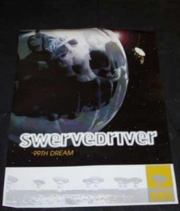 Swervedriver - 99th Dream Promo Poster