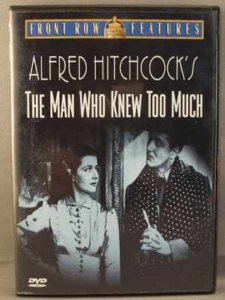 Alfred Hitchcock's The Man Who Knew Too Much DVD