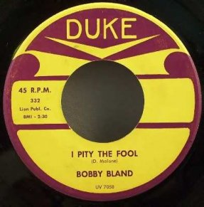 Bland, Bobby - Close To You / I Pity The Fool Vinyl 45 7