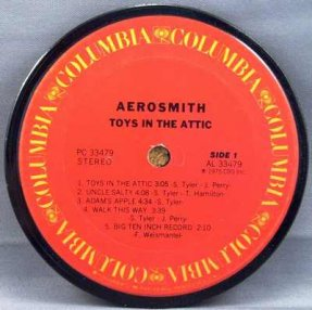 Aerosmith - Toys In The Attic Coaster