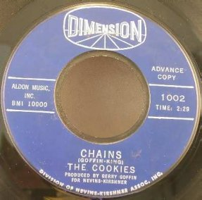 Cookies - Chains / Stranger In My Arms Vinyl 45 7 Pormo