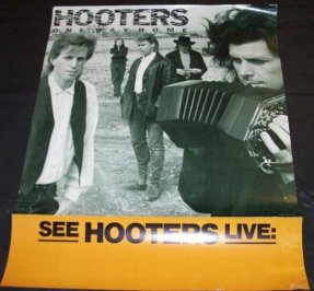 Hooters - One Way Home 1987 Promo Poster