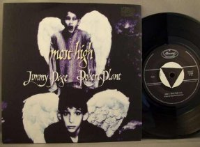 Page, Jimmy & Robert Plant - Most High / The Window UK 45 W/PS