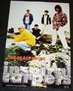 Inspiral Carpets - The Beast Inside Promo Rock Poster