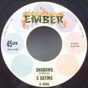 5 Satins - Shadows / Toni My Love Vinyl 45 7