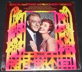 MacDonald, Jeanette and Nelson Eddy - Favorites Vinyl LP