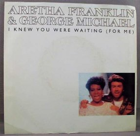 Franklin, Aretha & George Michael - I Knew You Were Waiting 45