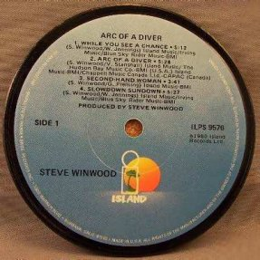 Winwood, Steve - Arc Of A Diver Coaster