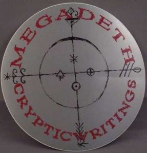 Megadeth - Cryptic Writings Promo Sticker