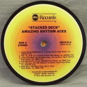 Amazing Rhythm Aces - Stacked Deck Coaster