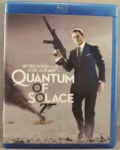 Quantum Of Solace Blu-Ray James Bond 007