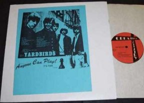 Yardbirds - Anyone Can Play It's Fun Vinyl LP
