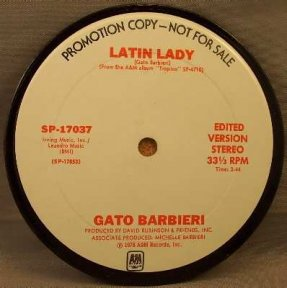 Barbieri, Gato - Latin Lady Coaster