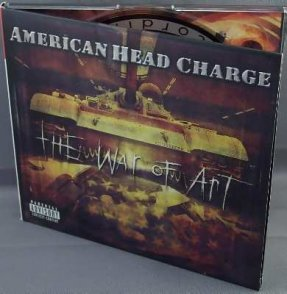 American Head Charge - The War Of Art CD Digi-Pak