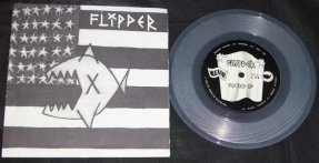 Flipper - Flipper Twist / Fucked Up Clear Vinyl 45 W/PS