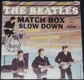 Beatles - Match Box / Slow Down (Picture Sleeve)