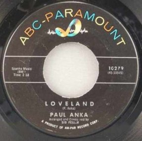 Anka, Paul - Loveland / Bells At My Wedding Vinyl 45