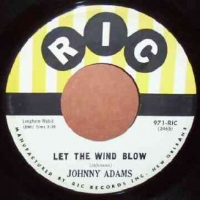 Adams, Johnny - Let The Wind Blow / Someone For Me 7