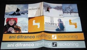 Difranco, Ani - Reckoning / Revelling Set of 4 Mini Banners