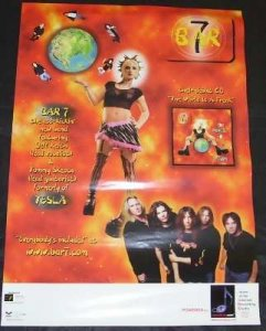 Bar 7 - World Is A Freak Promo Poster