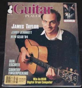 Guitar Player Magazine May 1984 James Taylor Michael Schenker
