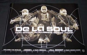 De La Soul - Art Official Intelligence Mosaic Thump Promo Poster