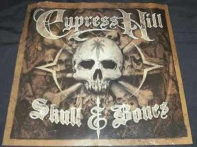 Cypress Hill - Skull & Bones Double Sided Promo Poster 1999