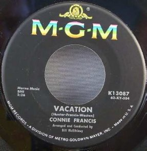 Francis, Connie - Vacation / Biggest sin Of All Vinyl 45 7