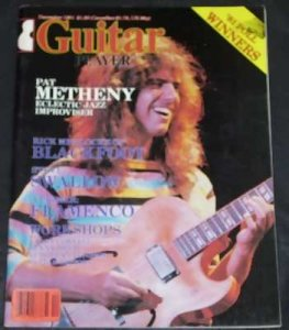 Guitar Player Magazine December 1981 Pat Metheny Blackfoot