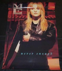 Etheridge, Melissa - Never Enough 1992 Promo Poster