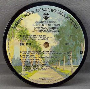Harris, Emmylou - Quarter Moon In A Ten Cent Town Coaster