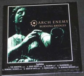 Arch Enemy - Burning Bridges CD Promo