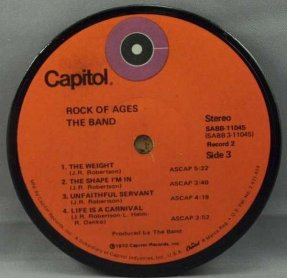 Band - Rock Of Ages Coaster side 3